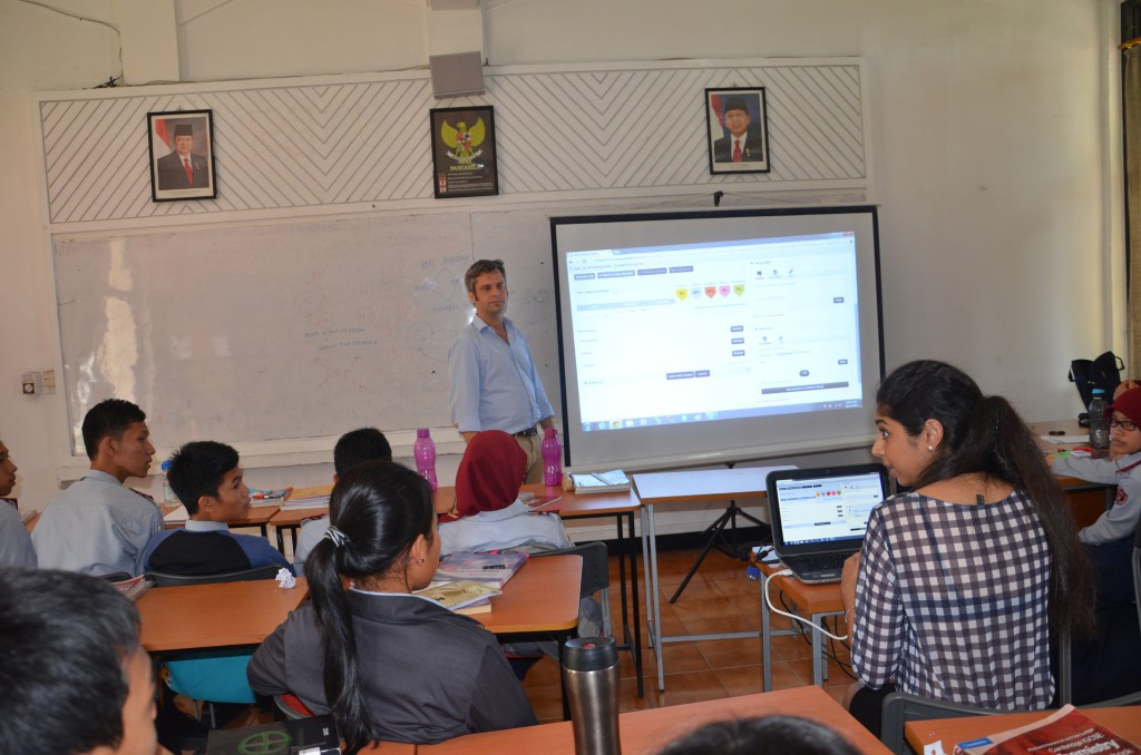 Blended Learning demo in Indonesia by Knowledge Platform